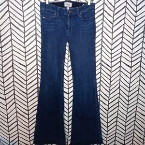 Paige Flares Stretch Denim Jeans